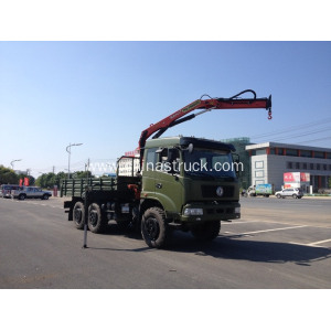 Dongfeng Truck with Crane for Oil Field