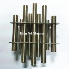 Магнит на решетке и магнитный стержень из нержавеющей стали