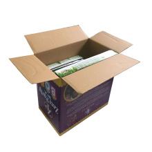 Cajas de embalaje de cartón corrugado a medida ecológicas