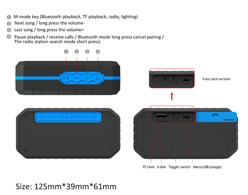 bluetooth waterproof speakers