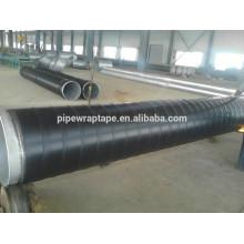HDPE cinta de tubería de protección exterior