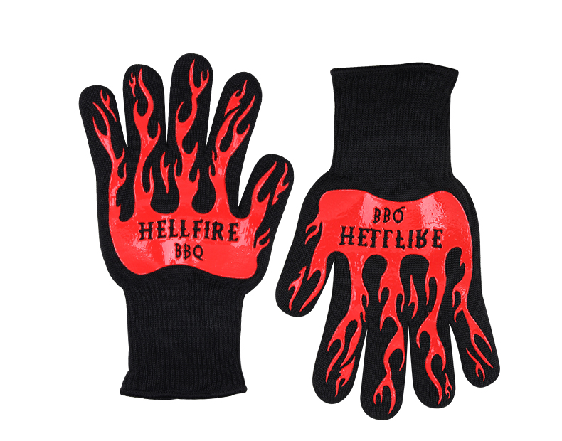 Red Flame Gloves