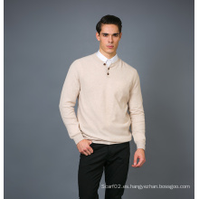 Suéter de cachemira de la manera de los hombres 17brpv126