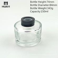 frasco de difusor de vidro transparente personalizado perfume 150ml