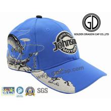 Gorra de béisbol profesional de los deportes de la tela del otomano de la moda de calidad superior 2016 con bordado de la calidad