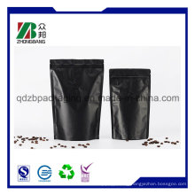 Stand up Coffee Pouch with Zipper and Valve