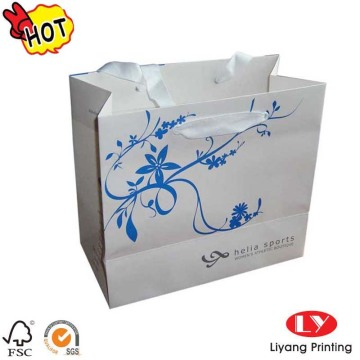 Hot Sale Custom novo design saco de papel de presente