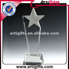2012 cheap crystal star trophy