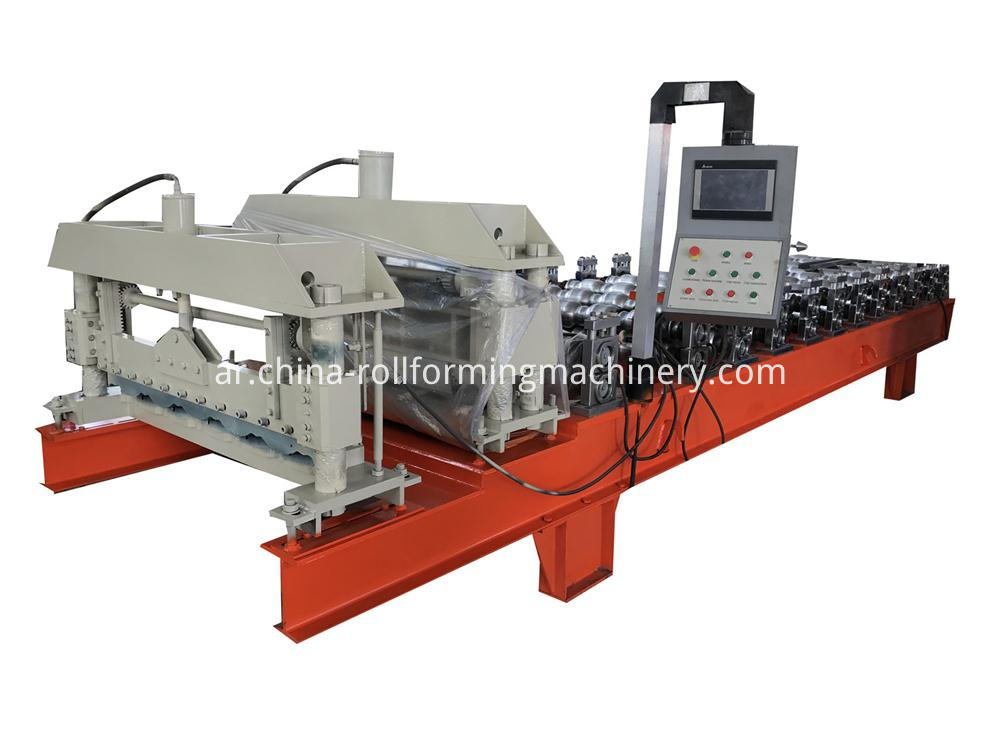 Stocked Glazed Tile Roll Forming Machine