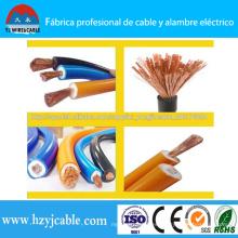 IEC 245-81 Cobre estándar / CCA Soldadura de aislamiento de PVC Cable Yhf