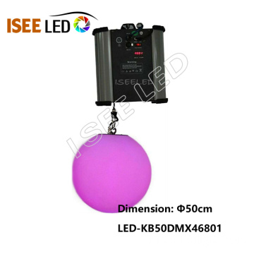 DMX512 Kinetic LED Ball RVB couleur