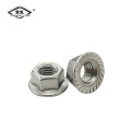 hex flange bolt and nut