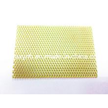 Placa de malla de aleación de titanio de ASTM B265 Gr7