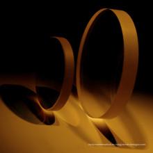1.56 superficie asférica Super-Hard Blue corte con amarillo verde Gemcoat lente óptica para todos