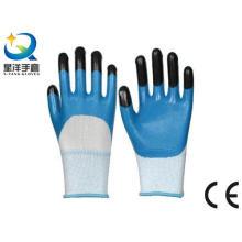 Nitril beschichtet, Finger verstärkt, Procective Safety Arbeitshandschuhe (N7011)