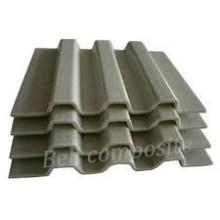 Perfis de grande resistência da cobertura do telhado de FRP / fibra de vidro / grating