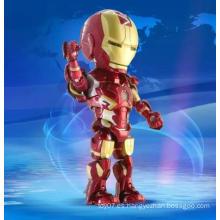 Muñeca de acción personalizada figura de acción muñeca de aprendizaje de juguetes de plástico