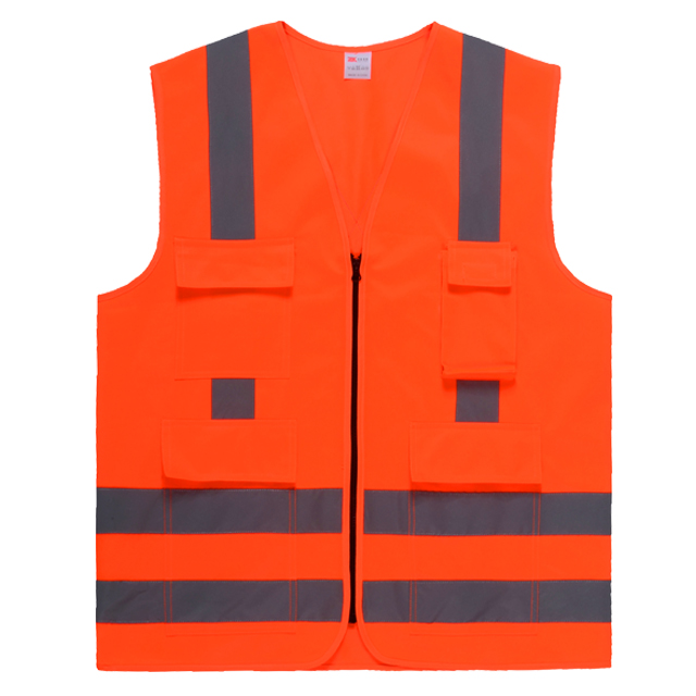 Safety Vest with X Reflective Tape