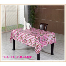 Vinyl Table Oilcloth / Table Linen in New Designs Hot Sales