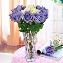 2016 Оптовая Красивые Кристалл Прозрачный стеклянный вазу для цветов для дома Украшение