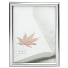 Silver 13x18cm Plastic Photo Frame