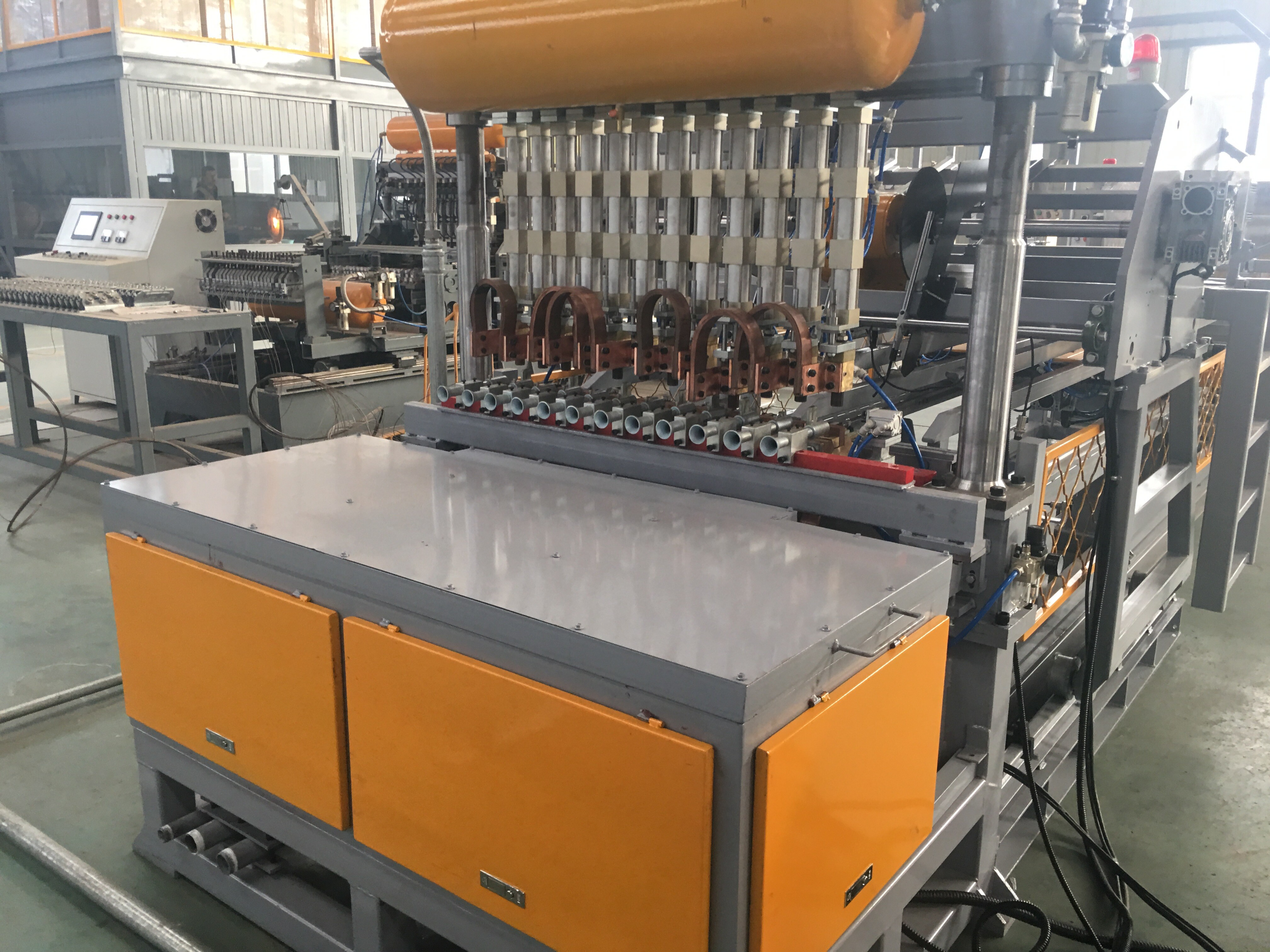 Weld Galvanized Metal Fence Machine