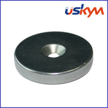 N35 NdFeB Ring Magnet avec Countersunk (R-012)