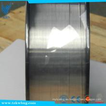 304 Gas blindado Acero inoxidable acabado brillante precio de alambre de soldadura por metros