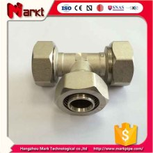 Nickled Plated Brass Compression Fitting