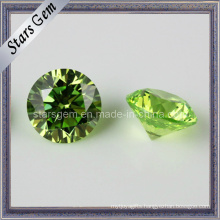 Semi-Precious Apple Green Cubic Zirconia Stone