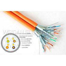 10g-Base-T, Telecom Grade CAT6A LAN Cable, 500MHz
