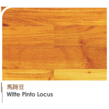 Plump High-End Original South American Padauk Witte Pinto Locus Engineered and Laminat Flooring