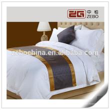 Nova chegada!!! 100% poliéster High Grade Decoração Jacquard Fabric Atacado Bed Runner