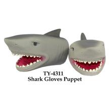 Lustige Haifisch-Handschuhe Marionetten-Spielzeug