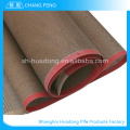 Correia transportadora de eco-friendly Material recuperado ptfe fibra de vidro revestido tecido malha