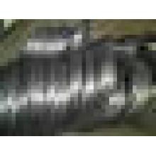 2.41mm Hot mergulhado fio galvanizado 60gr Zinco 600n / mm2 força de tração