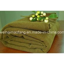 Tejido 100% poliester militar manta de lana (NMQ-AB018)