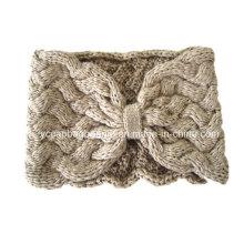 Moda Feminina Knitted Headband