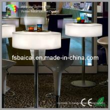 Meuble de bar extérieur avec RGB 16 couleurs lumineuses
