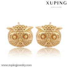 91047 Xuping New Fashion bijoux en plaqué or 18 carats et boucles d'oreilles