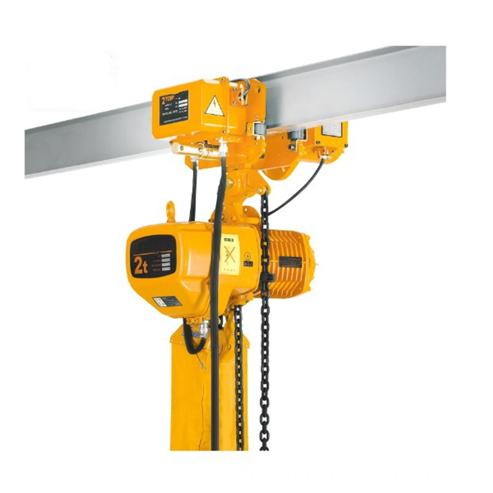 2 Ton 220V Electric Chain Hoist with Trolley