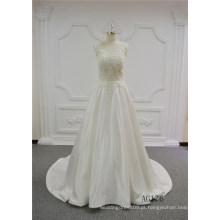 Vestido De Noiva Frisado Sexy A Linha De Vestido De Noiva Marfim