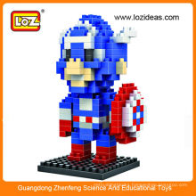 Factory education toy cartoon building blocks