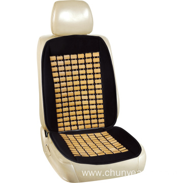 Bamboo car seat cushion