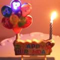 Шар музыкальный пение светодиодные свечи на день рождения оптом