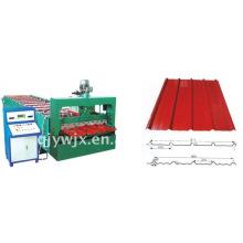 QJ-900 Farbe Stahl Wall Panel Roll Formmaschine