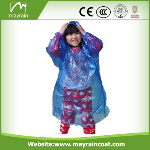 Discount Sale Kids PE Raincoat