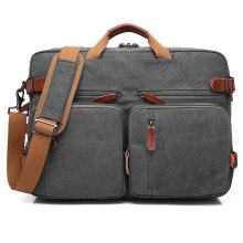 Multi Function Travel Shoulder Messenger bärbar datorväska