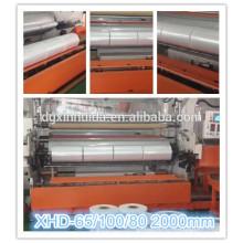 Máquina de la película del estiramiento del PE; 12 máquina de la película de espesor micro