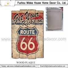 66 Antique Signs Wood Word Art